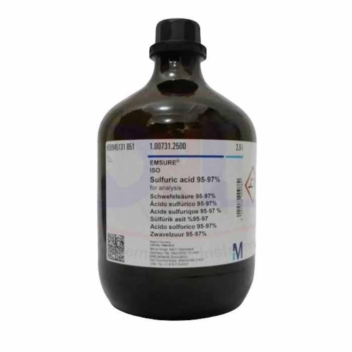 100731.2500SULFURIC ACID 95-97%GR ISO2.5 L   พร้อมส่ง