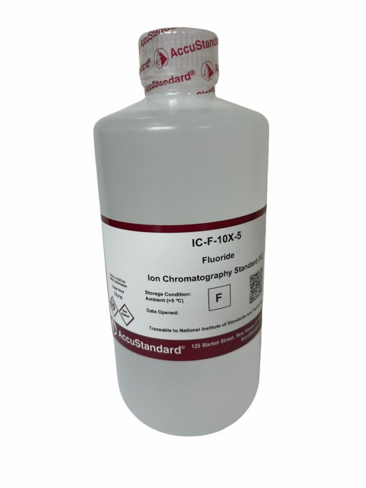 Ion chromatography standard Fluoride 500 ML ACCU STANDARD