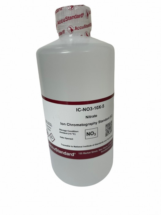 Ion chromatography standard Nitrate 500 ML ACCU STANDARD 1000 ppm