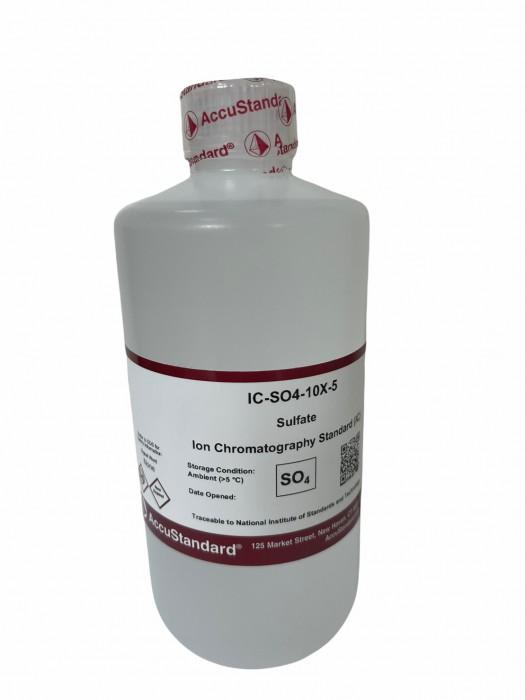 Ion chromatography standard Sulfate 500 ML ACCU STANDARD 1000 ppm