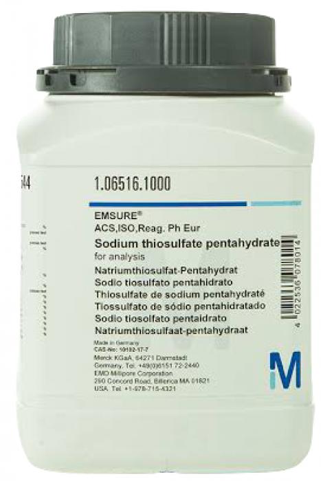 106516 Sodium thiosulfate merck